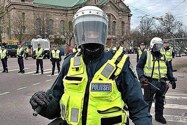 Власти Эстонии намерены создать вооруженный отряд для борьбы спротестующими