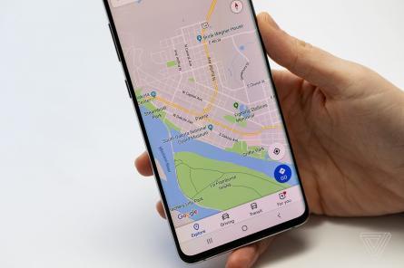 Гугл-карты начнут направлять водителей на экологически чистые маршруты