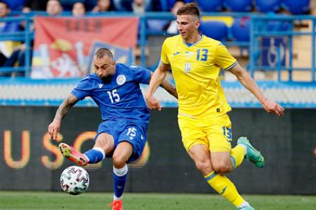 Сборная Украины выиграла первый матч в новой форме