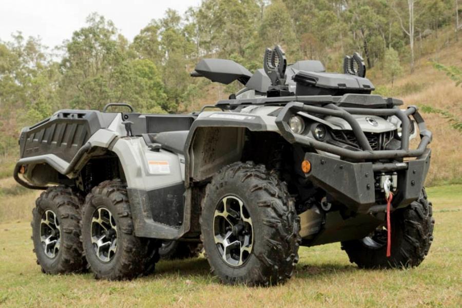 Военная версия вездехода «Outlander MAX 650XT Military Version».