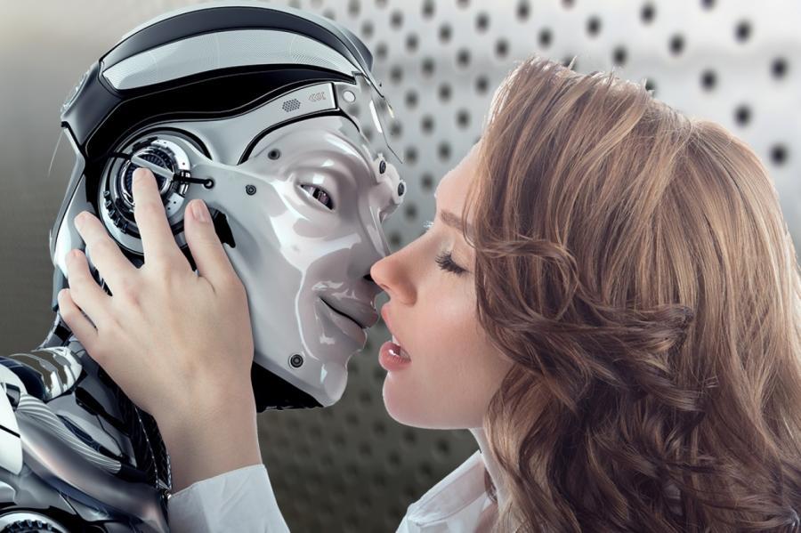 Секс с женщиной роботом андроидом видео