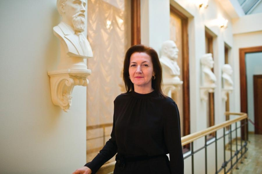 Винета Верика, председатель правления Rīgas Nami