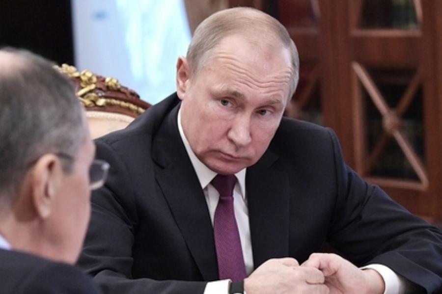 Владимир Путин Фото: Алексей Никольский/ РИА Новости