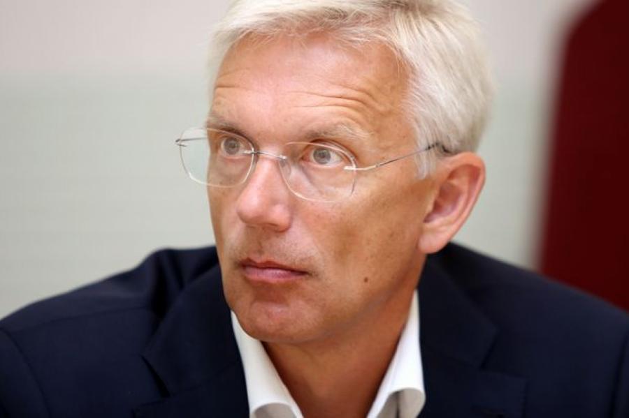 Новый премьер Латвии игражданин США Кришьянис Кариньш, фото LETA