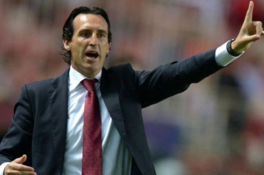 Тренер «Арсенала» Унаи Эмери.