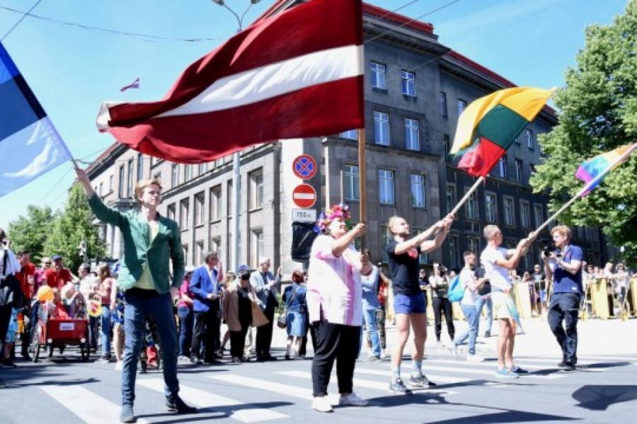 Гей-парад вРиге, иллюстративное фото
