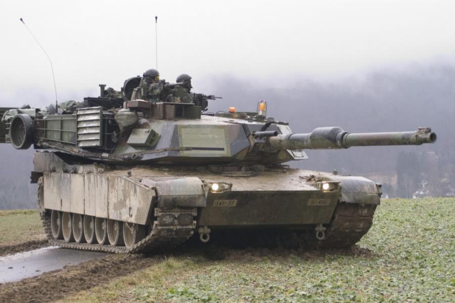 Америкаснкие танки готовы защитить республики Балтии.