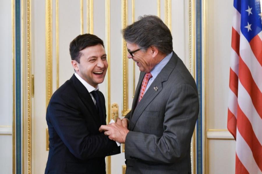 Встреча Владимира Зеленского сделегацией изСША Фото: пресс-служба президента Украины