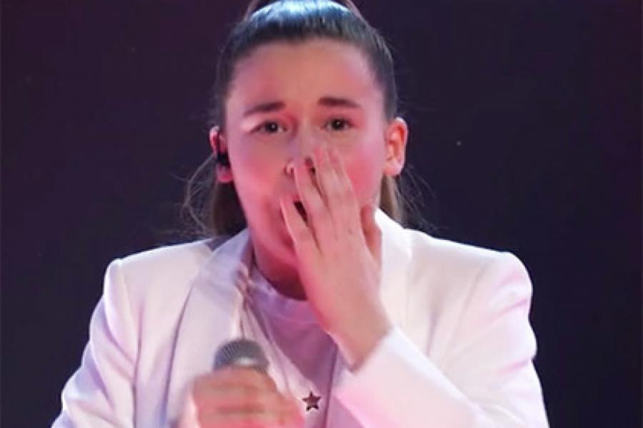 Микелла Абрамова Кадр: «Голос. Дети-6»