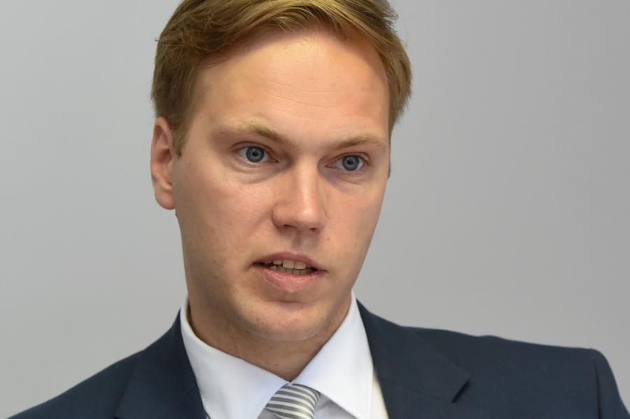 руководитель Балтийского института корпоративного управления вЛатвии Андрис Графс, фото LETA