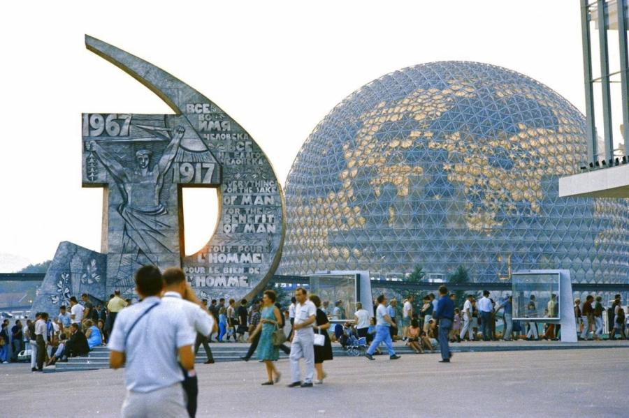 Советский павильон Expo-67, Монреаль, Канада.
