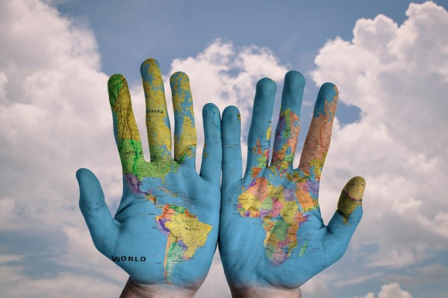 Днем, картинка путешествия по миру