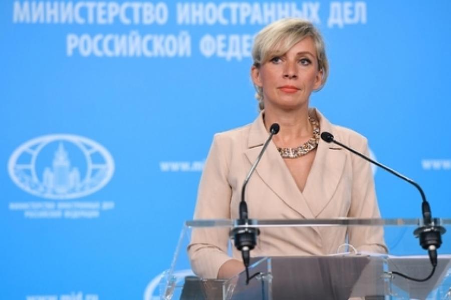 Мария Захарова Фото: Сергей Пятаков/ РИА Новости