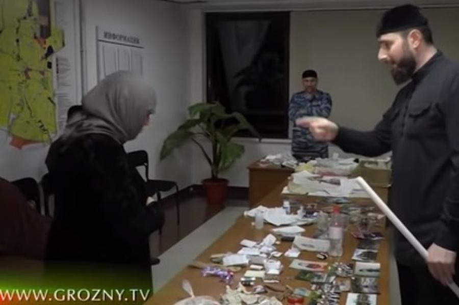 Скриншот извидео ЧГТРК «Грозный» наYouTube