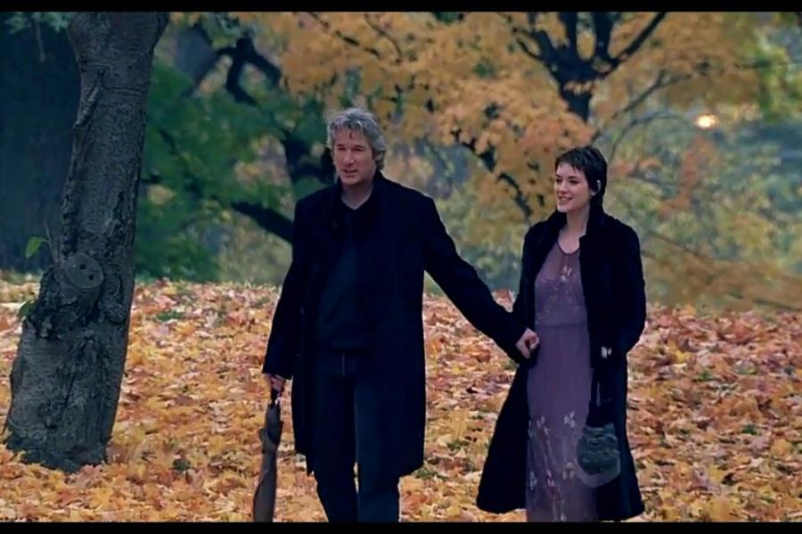 Кадр изфильма «Осень вНью-Йорке»