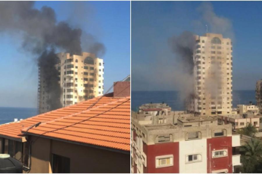 Война в Израиле, Газа. Фото: twitter
