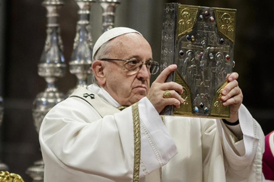 Папа Римский Франциск Фото: Giuseppe Ciccia / Globallookpress.com