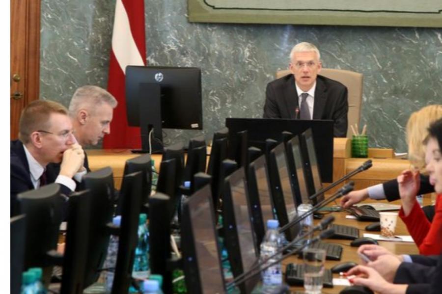 Кабинет министров Латвии. Иллюстративное фото, LETA