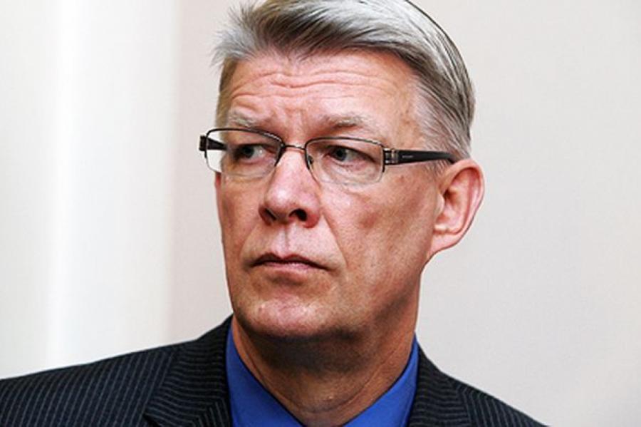 Экс-президент Латвии Валдис Затлерс, фото LETA