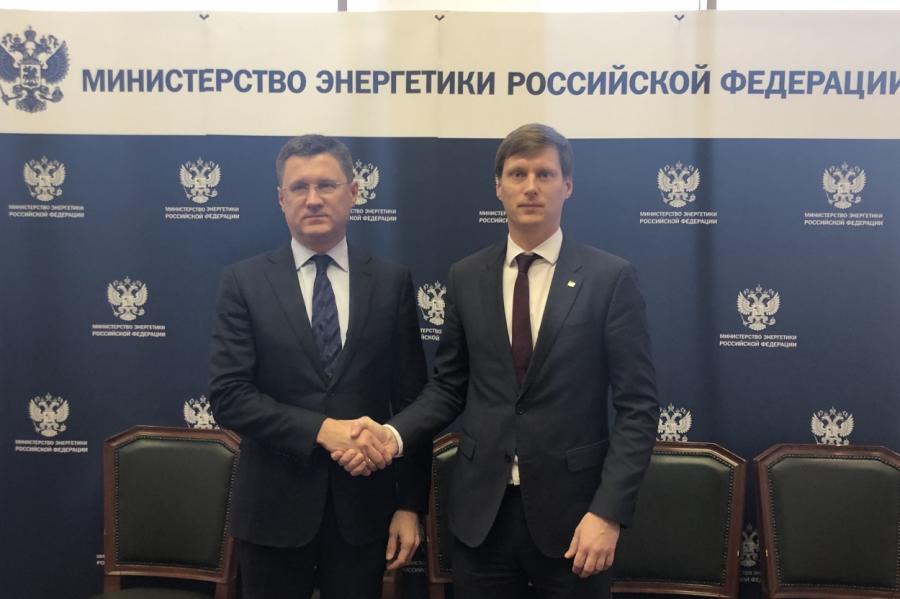 Два министра - Новак и Немиро.