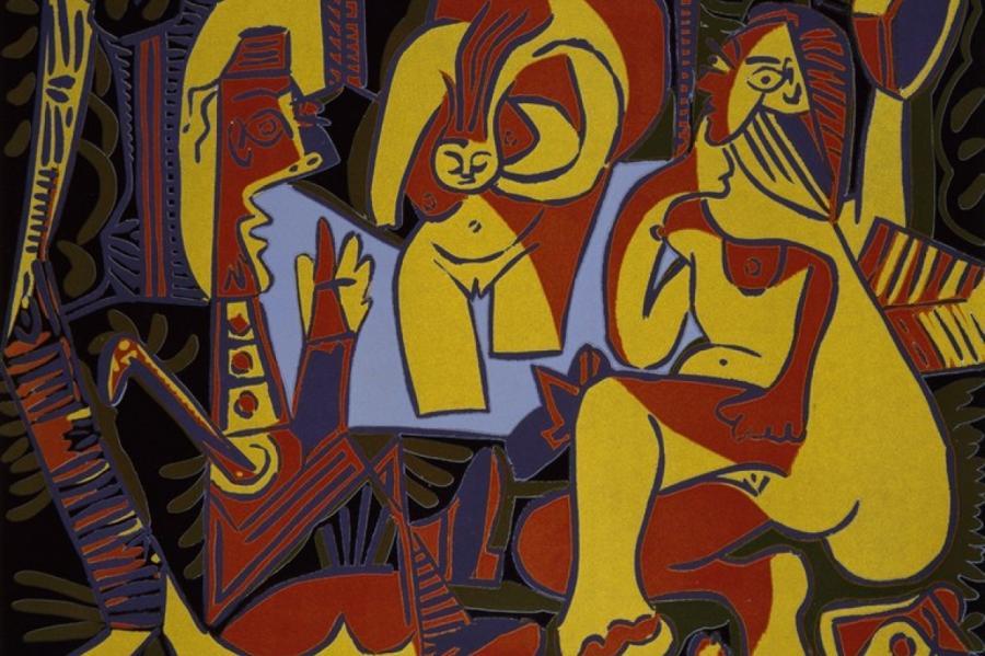 Пабло Пикассо. «Завтрак на траве» по Мане I», 1962