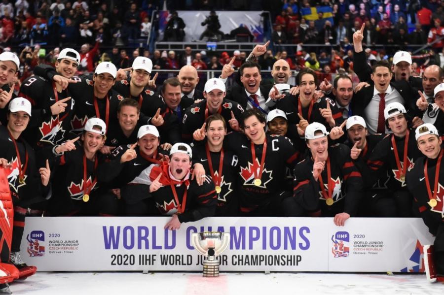 Молодежная сборная Канады — вновь сильнейшая на планете, очередное золото взяв в чешской Остраве.
