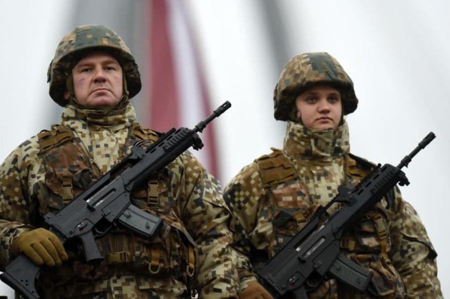Иллюстративное фото, армия Латвии, фото LETA