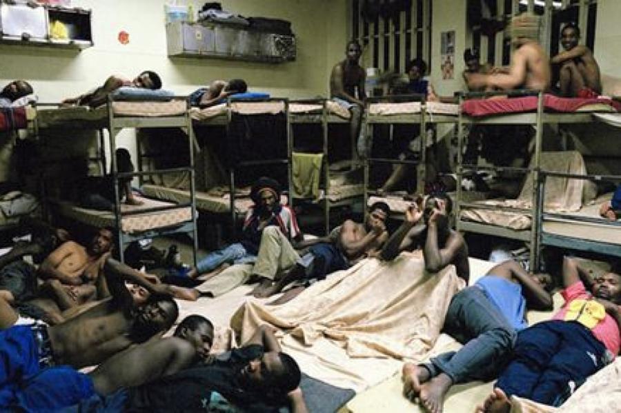 Тюрьма в ЮАР.