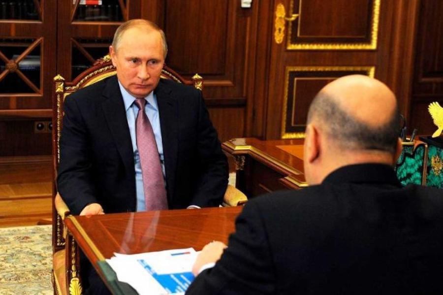 Владимир Путин. Фото: Kremlin Pool/www.globallookpress.com