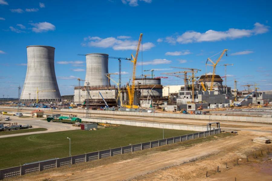 Строительство Белорусской АЭС.