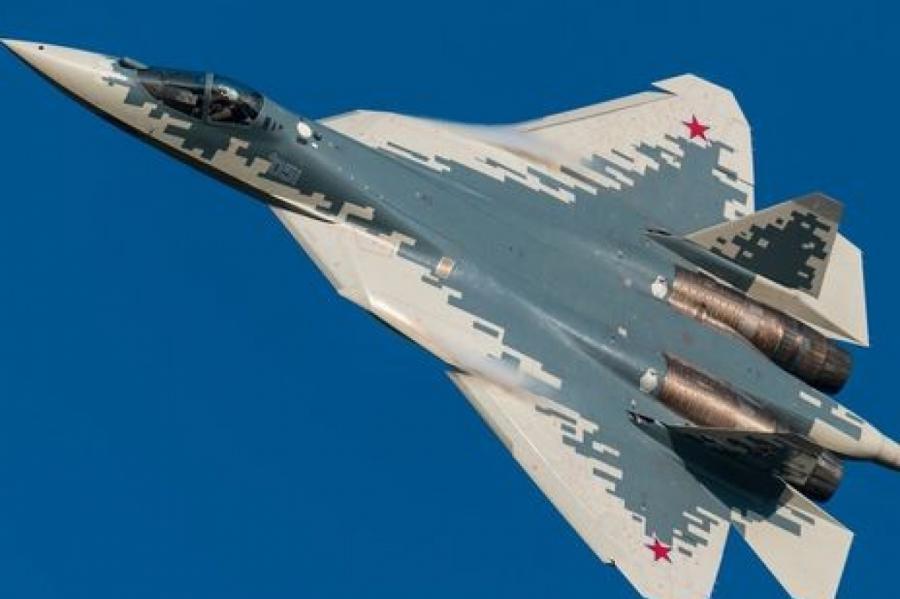 Су-57 предназначен для уничтожения всех видов воздушных, наземных и надводных целей Скриншот: Techreporter.ru / YouTube
