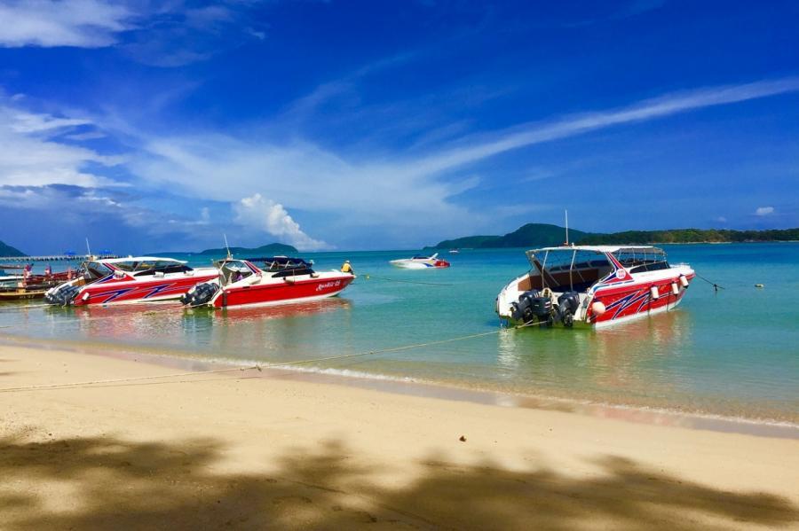 Остров Пхукет в Таиланде.