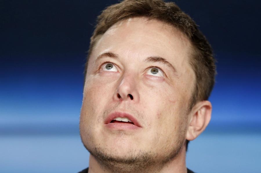 Илон Маск.