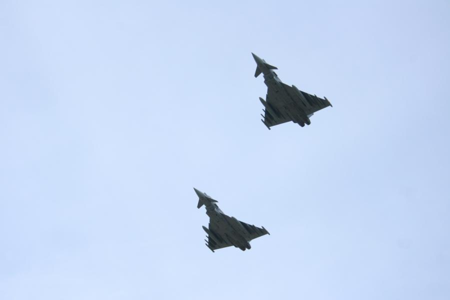 Самолеты НАТО в Латвии.