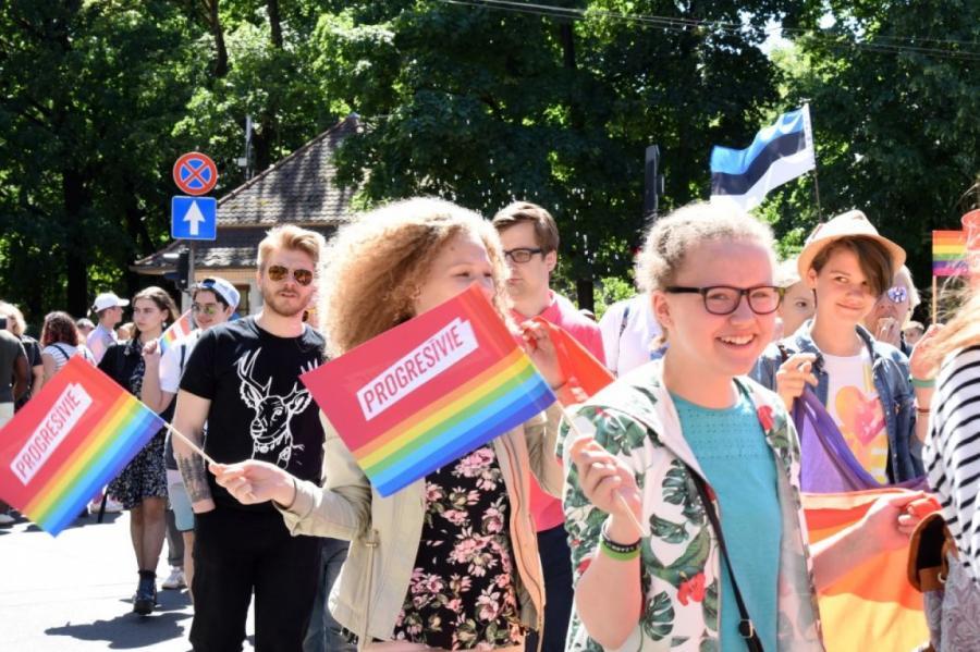 Гей-парад в Риге, фото LETA