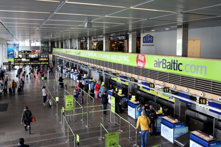 Аэропорт Riga, LETA
