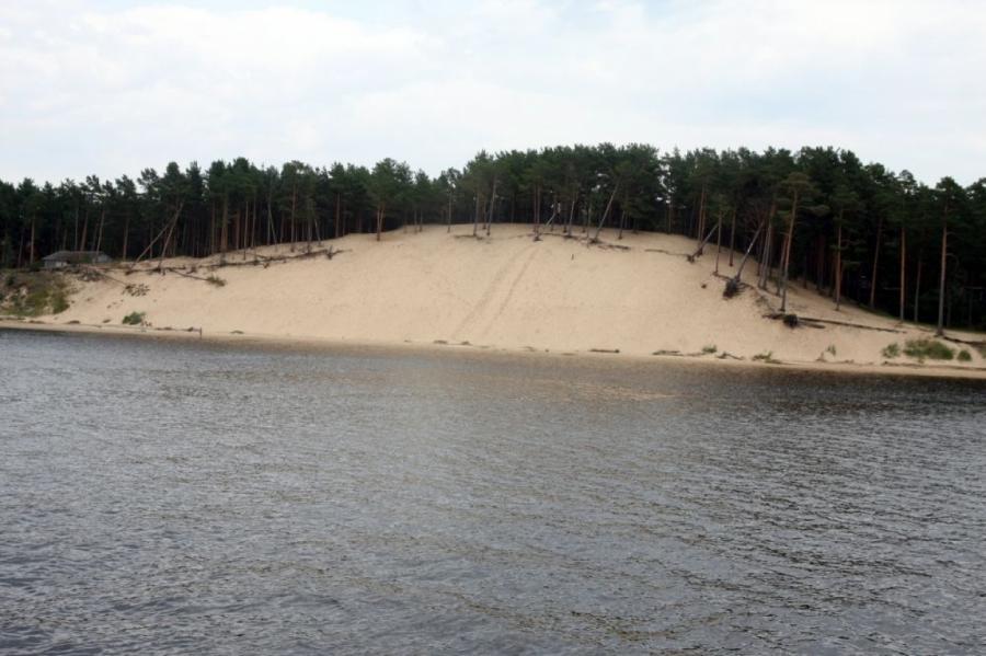 Белая дюна в Саулкрасты