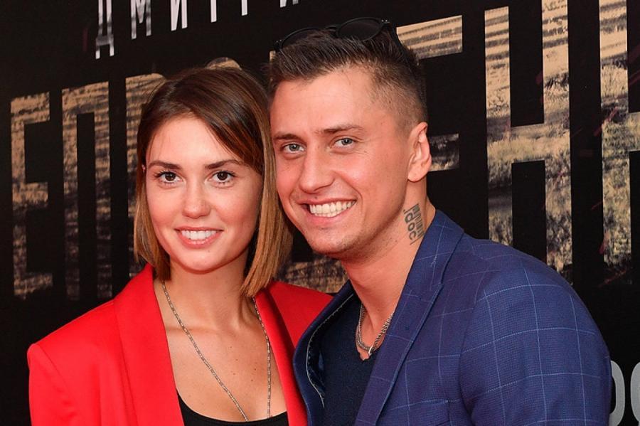 Муцениеце с мужем. Фото: Владимир Песня/ РИА Новости