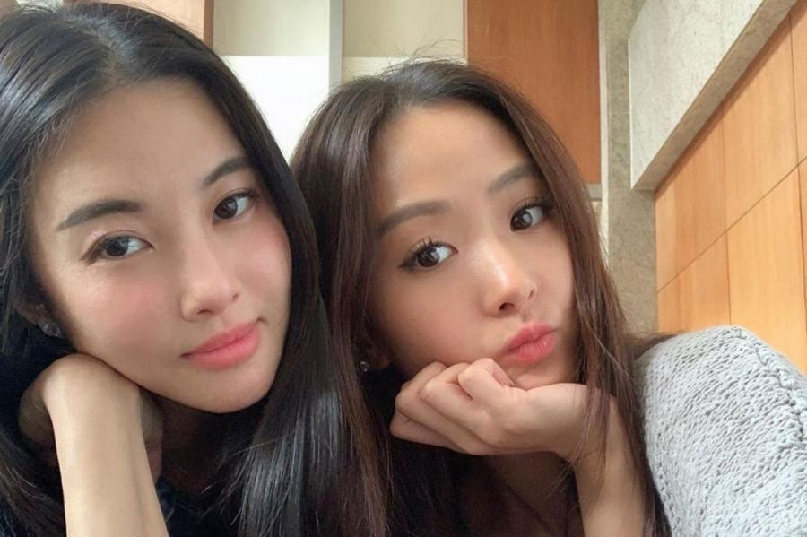 Эйми Сунь Юньюнь с дочерью (instagram.com/aimeeyunyunsun/)