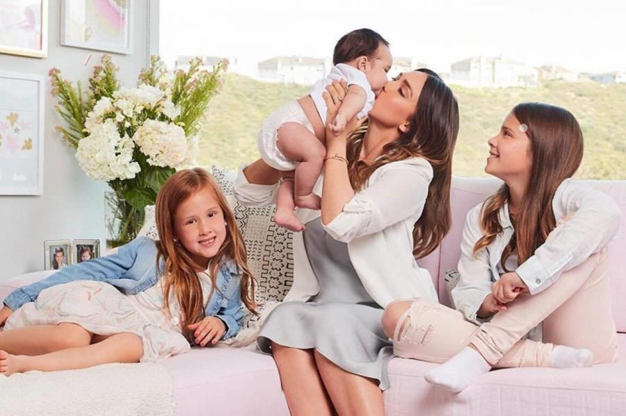 Джессика Альба с детьми © WIESE/GLOBAL LOOK PRESS