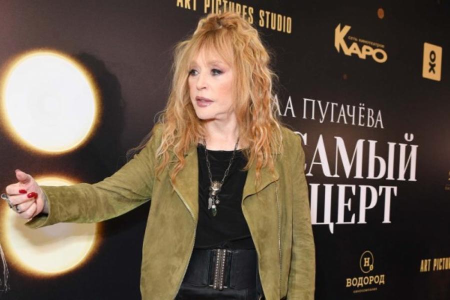 Алла Пугачева. Фото: Komsomolskaya Pravda/Global Look Press/www.floballookpress.com