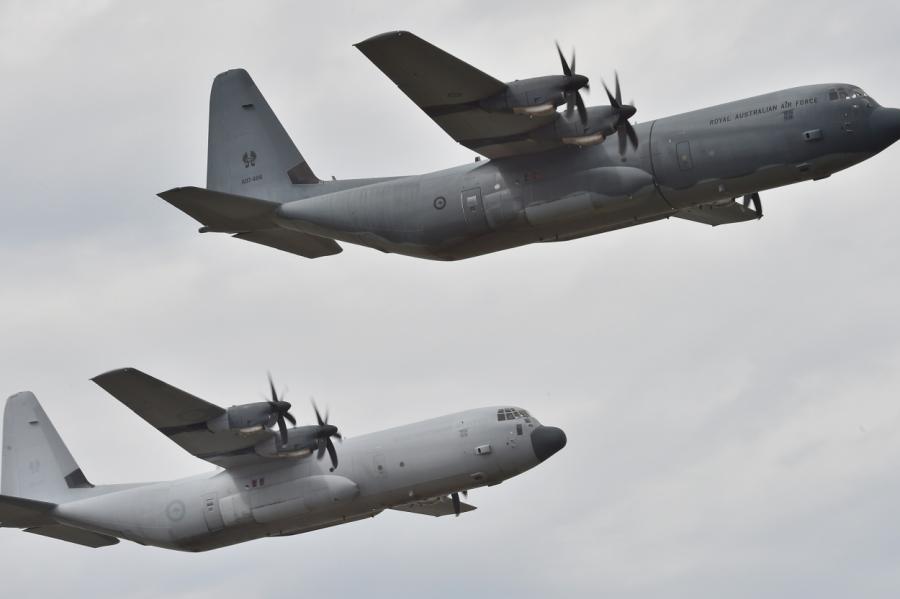 Lockheed Martin C-130.