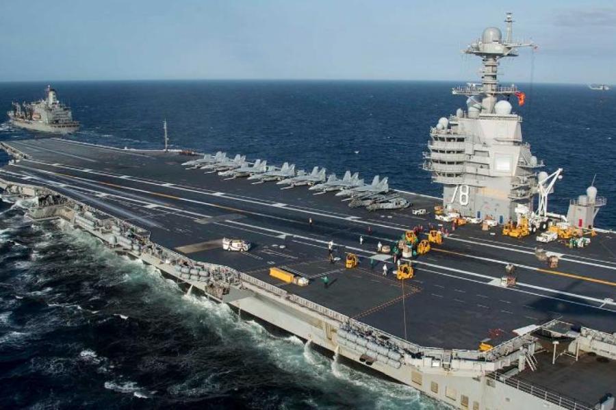 Фото: Seaman Riley Mcdowell/U.S. Navy/www.globallookpress.com