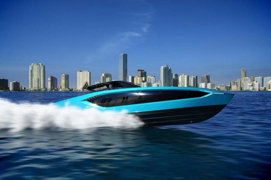Яхта Lamborghini 63  ПРЕСС-СЛУЖБА
