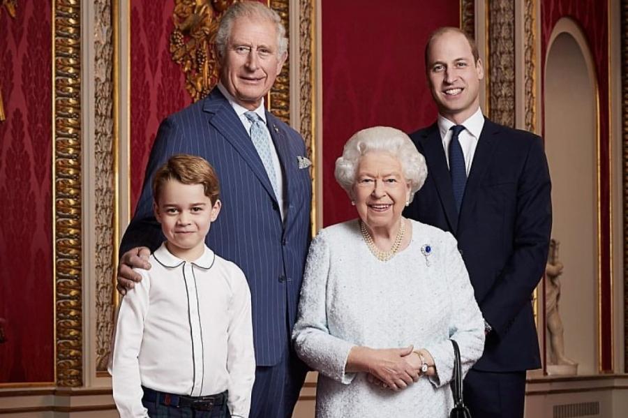 7-летнего наследника принца Уильяма и Кейт Миддлтон   Instagram @kensingtonroyal