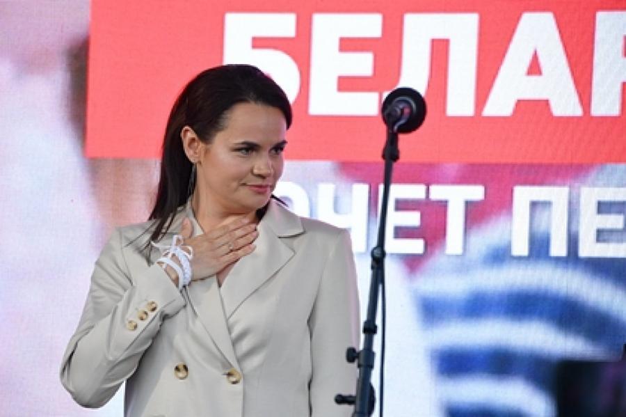 Светлана Тихановская Фото: Sputnik