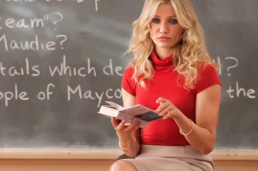 Фото: Кадр из фильма «Очень плохая училка»