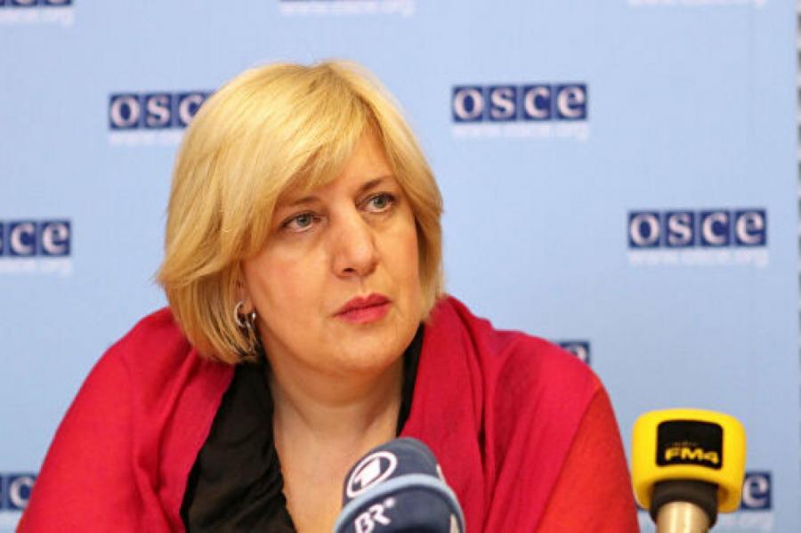 Комиссар ОБСЕ Дунья Миятович  Фото : OSCE/Susanna Lööf