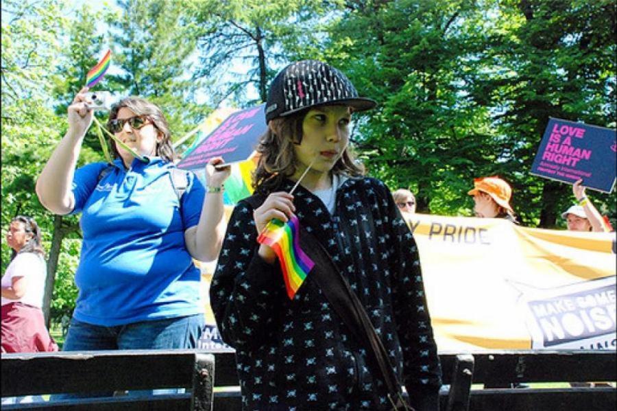 Фото: гей-парад в Риге