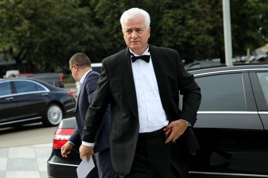 Василий Маркович на инаугурации президента ЛР Левитса.